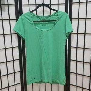 Converse All Star Women's Green Blouse